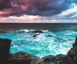 ocean, place, and sky image