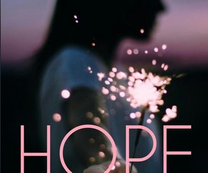 hope, pink, and wallpaper image