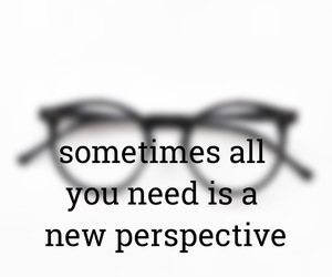 life, perspective, and quotes image