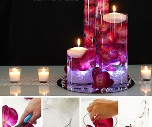 diy, candles, and decor image