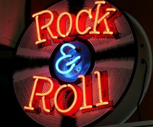 neon and rock n roll image