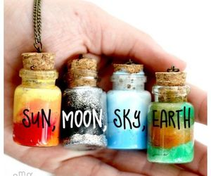 diy, jar, and moon image