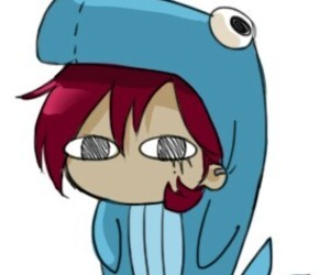 chibi, lol, and whale image