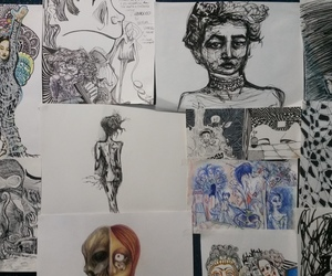art, drawings, and pure art image