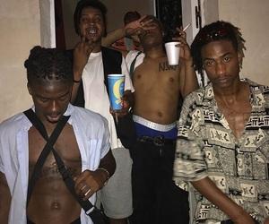 black, gang, and shit image