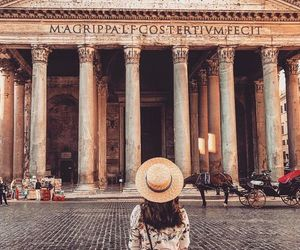 city, photography, and rome image