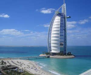 Dubai and burj al arab image