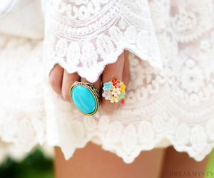 fashion, ring, and rings image
