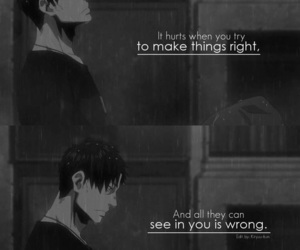 anime, gangsta, and quotes image