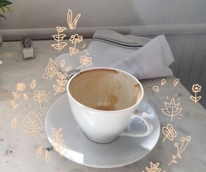 aesthetic, coffee, and theme image
