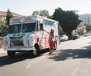 aesthetic, boys, and ice cream truck image