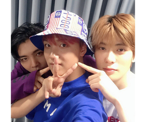 nct, haechan, and johnny image