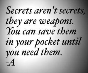 secret, pretty little liars, and pll image
