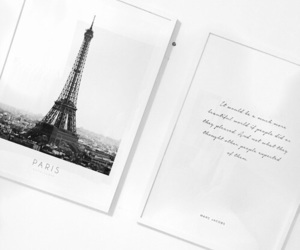 paris, quotes, and white image