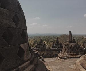 indonesia, travel, and borobudur image