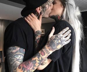 romance, tattoo, and love image
