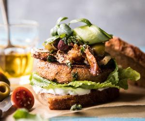 burger, cauliflower, and crispy image