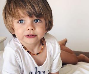 baby boy, boy, and blonde image