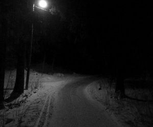 black, black&white, and dark image
