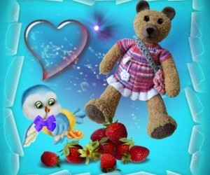 crafts, teddybear, and decoration image
