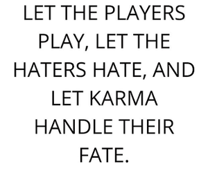 fate, haters, and karma image