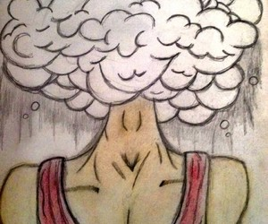 dreamer, sketchbook, and headintheclouds image