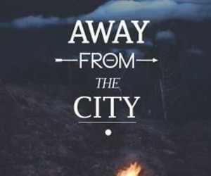 city, away, and fire image