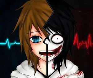 jeff the killer, creepypasta, and Jeff image