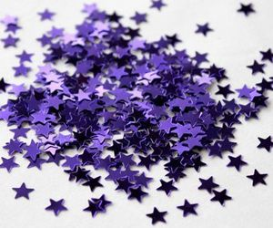 aesthetic, stars, and purple image
