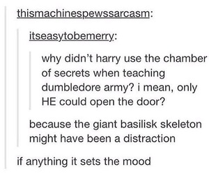 chamber of secrets, dumbledore's army, and harry potter image
