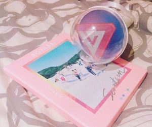 Seventeen, kpop, and pink image