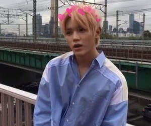 photobooth, low quality, and taeyong image