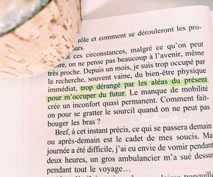 book, francais, and french image