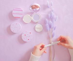 cosmetics, lila, and innisfree image
