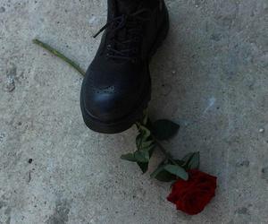 rose, grunge, and alternative image