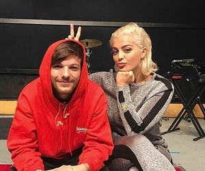 idols, louistomlinson, and beberexha image