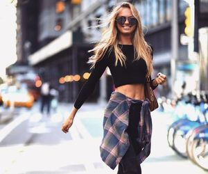 fashion, girl, and romee strijd image