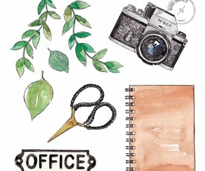 art, camera, and dibujo image