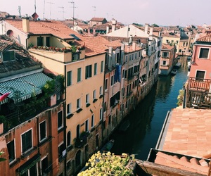 venice, italy, and roof top image