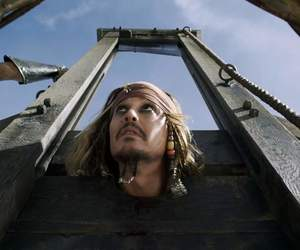 captain, jack sparrow, and pirates of the caribbean image