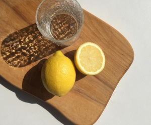 lemon, water, and food image