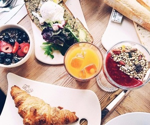 berries, croissant, and food image