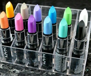 collection, lipstick, and colours image