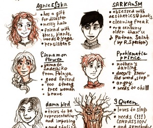 uprooted, sarkan, and agnieshka image