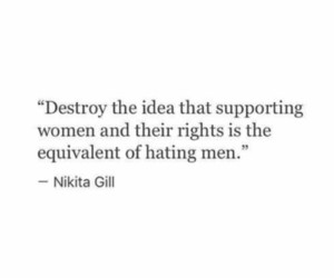 quotes, empowerment, and feminism image