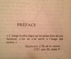 french, book, and quote image