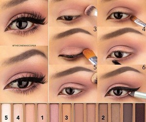 eyeshadow palette, naked 3, and makeup style image