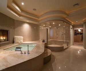 bathroom, home, and luxury image