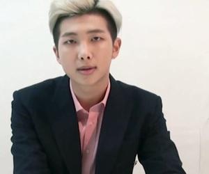 bts, kim namjoon, and namjoon image