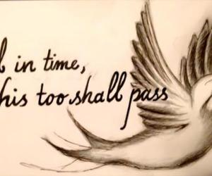 quotes, bird, and tattoo image